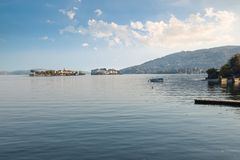 Lago Maggiore, Italy E imagem de stock royalty free