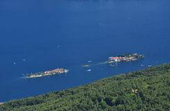 Lago Maggiore, Italy. General landscape view. Royalty Free Stock Photos