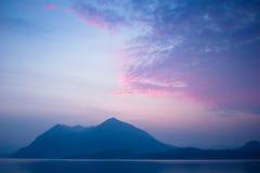 Lago Maggiore, Italy - Moody lake Royalty Free Stock Photo