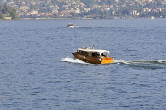 Lago Maggiore, Italy - Speedboats Stock Images