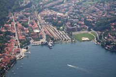 Lago Maggiore - Laveno Mombello Fotografía de archivo