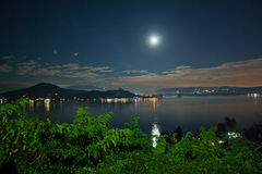 Lago Maggiore by Night Stock Images