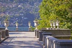 Lago Maggiore o Lago Verbano foto de archivo libre de regalías