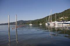 Lago maggiore solcio Stockfotos