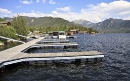 Lago magnífico Colorado Imagenes de archivo