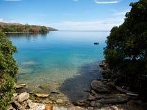 Lago malawi Imágenes de archivo libres de regalías