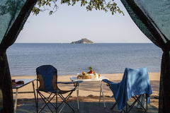 Lago Malawi Foto de Stock