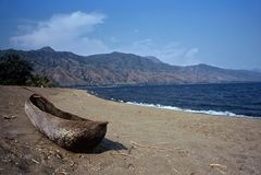 Lago Malawi, Tanzania Fotografia Stock
