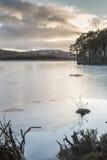 Lago Mallachie en el parque nacional de Cairngorms Imagen de archivo libre de regalías