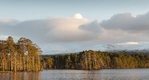 Lago Mallachie en Escocia Imagenes de archivo