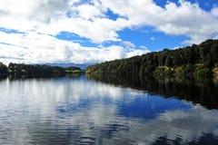 Lago Manapouri Fotografia de Stock Royalty Free