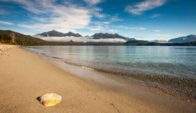 Lago Manapouri Fotografie Stock