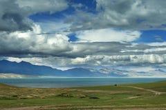 Lago Manasarovar Immagine Stock Libera da Diritti