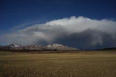 Lago Manasarovar nel Tibet Fotografia Stock Libera da Diritti
