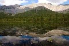 Lago manchado Fotografia de Stock