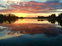 Lago mango Imagen de archivo