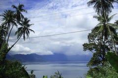 Lago Maninjau Imágenes de archivo libres de regalías