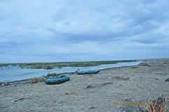 Lago Manych-Gudilo Fotografie Stock