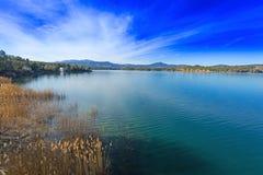 Lago marathon imagem de stock royalty free