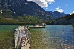 Lago Mary de Saint Fotos de Stock Royalty Free