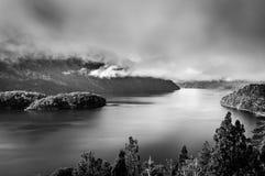 Lago Mascardi Foto de archivo
