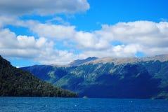 Lago Mascardi, Bariloche, Argentina Fotografia de Stock Royalty Free