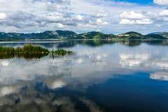Lago Massaciuccoli, Torre del Lago, Toscana Italia Fotografia Stock Libera da Diritti
