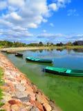 Lago Mastis, Lituania Fotografia Stock Libera da Diritti