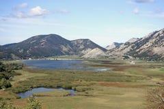 Lago Matese Foto de archivo