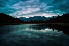 Lago Matheson Immagine Stock Libera da Diritti