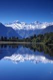 Lago Matheson Fotografía de archivo