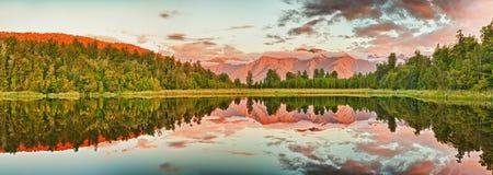 Lago Matheson Immagine Stock