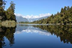 Lago Matheson Imagen de archivo