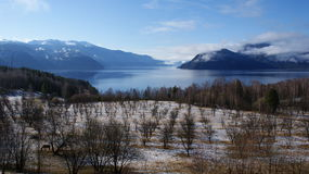 Lago Mauntain Fotos de archivo