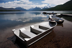 Lago McDonald Fotografia Stock