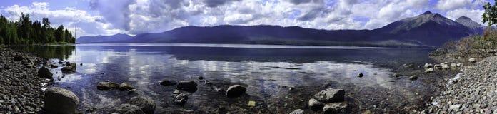 Lago McDonald Fotografía de archivo