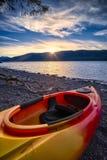 Lago McDonald en Serene Late Afternoon fotografía de archivo
