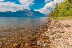 Lago McDonald glacier National Park Immagini Stock Libere da Diritti