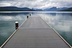 Lago McDonald Montana Fotografia Stock