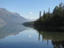 Lago McDonald, Montana Fotografia Stock