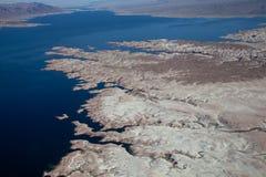 Lago Mead Aerial View Imagenes de archivo