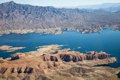 Lago Mead Aerial View Foto de archivo libre de regalías