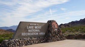 Lago Mead National Park en Nevada Fotografía de archivo libre de regalías