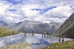 Lago Meige della La Fotografia Stock Libera da Diritti