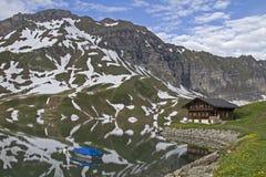 Lago Melchsee Fotos de Stock Royalty Free