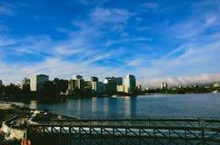 Lago Merrit Oakland Fotografia Stock