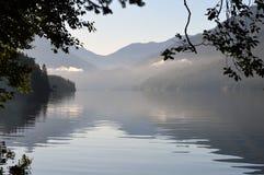 Lago a mezzaluna Immagini Stock Libere da Diritti