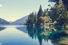 Lago a mezzaluna fotografia stock
