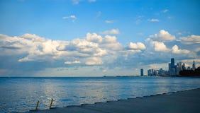 Lago Michigan fotografia stock libera da diritti
