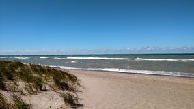 Lago Michigan 2 Fotos de archivo libres de regalías